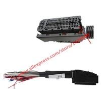 EDC17 EDC16 Automotive ECU Plug 94 Pin Way PC Board Socket With Wiring Harness For Bosch