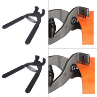 Hot Sale 4mm Leather Craft Spacing Stitching Chisel Hole Punch Piercing Nippers 2 Prongs /4 Prongs Pliers