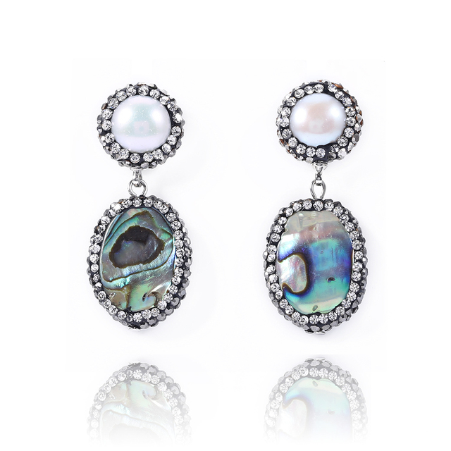 e98f3d8f5cf0e YNB Luxury Fashion Jewelry Women Long Earrings with Rhinestone High Quality  Vintage Big Earrings for Women Chirstmas Gift-in Drop Earrings from ...