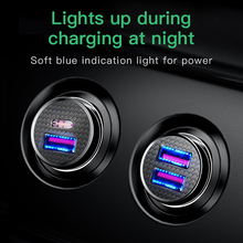Baseus Quick Charge 4.0 3.0 USB Car Charger For iPhone 11 Pro Max Xiaomi Huawei SCP QC4.0 QC3.0 QC 5A Fast PD Car Phone Charger