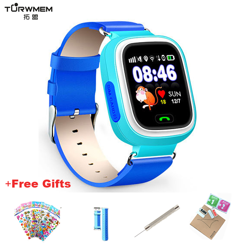 Q90 GPS Kid Smart Watch Baby Anti-lost Watches  SOS Call Location Device Tracker For Children Safe Monitor