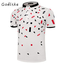 GODLIKE  2017 men's lapel Polo shirt/fashion leisure Polo/business edition short-sleeved blouse