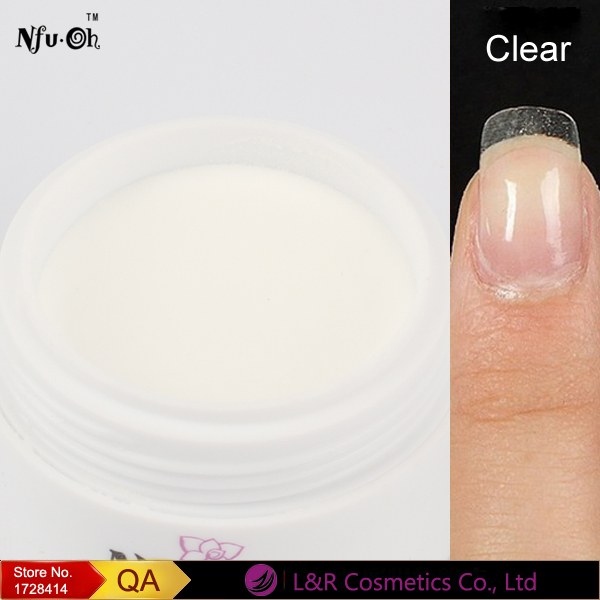 Nfuoh Clear Acrylic Nails Extension Design Crystal Powder Nail Art Tips Builder Polymeric In Powders Liquids From Beauty Health On