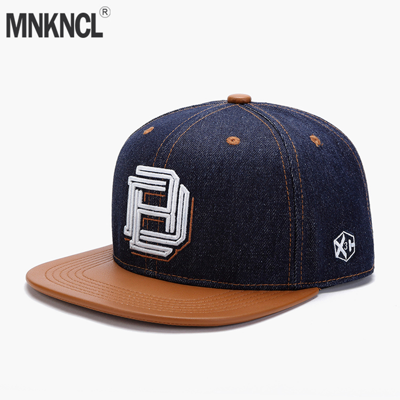 Original Denim Cool Hip Hop Cap Men Women Hats Vintage Embroidery Character Baseball Caps Gorras Planas Bone Snapback Caps 2017 fashion gorras planas hip hop hats for men baseball caps women snapback trucker hat men casual summer letter cap hombre