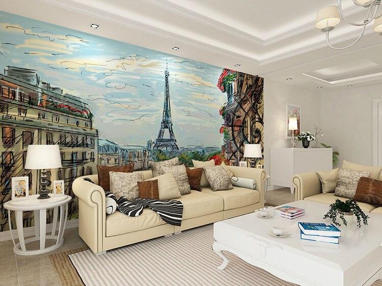 Beibehang birke 3d foto mural tapete für wände 3 d tapeten wohnkultur papel de parede para quarto papier peint