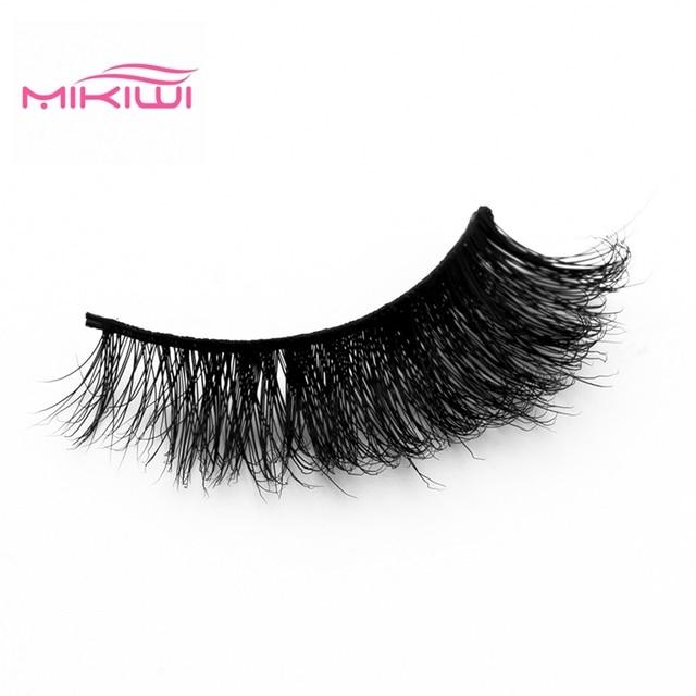 695a886b936 MIKIWI 3d mink lashes A19 CHEAP handmade 3D Mink handmade factory wholesale  full strip Cruelty Free false eyelashes