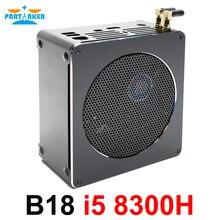 Причастником B18 Nuc Intel i7 8750 H 6 Core 12 потоков Mini PC Windows 10 Pro DDR4 i5 8300 H AC Wi-Fi настольный компьютер HD Mini DP