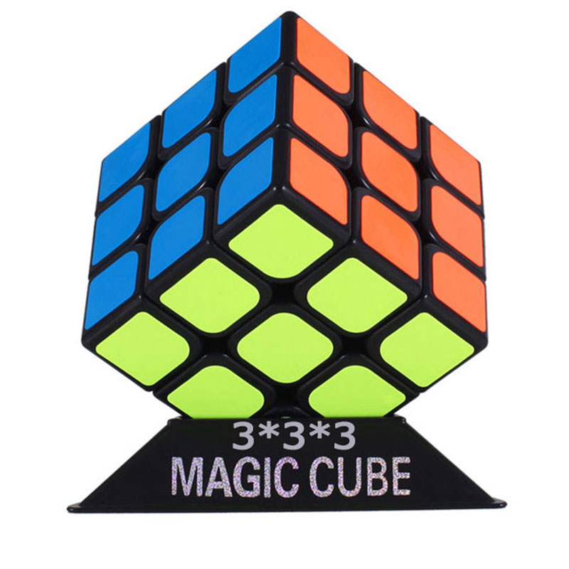 Yj 3x3x3 5.7CM Speed Magic Cube Professional Puzzle Neo Cubo Magico Sticker Toys For Children Adult Education Toy
