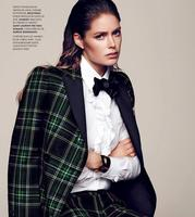 Freeshipp Nordic England Lattice Green Cashmere Elegant Fashion Womens Stripe Wool Fabrics For Clothes Overcoat Dress