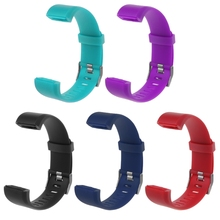 New Wrist Band Strap Replacement Silicone Smart Watch Bracelet Watchband For ID115 Plus Pedometer Accessories