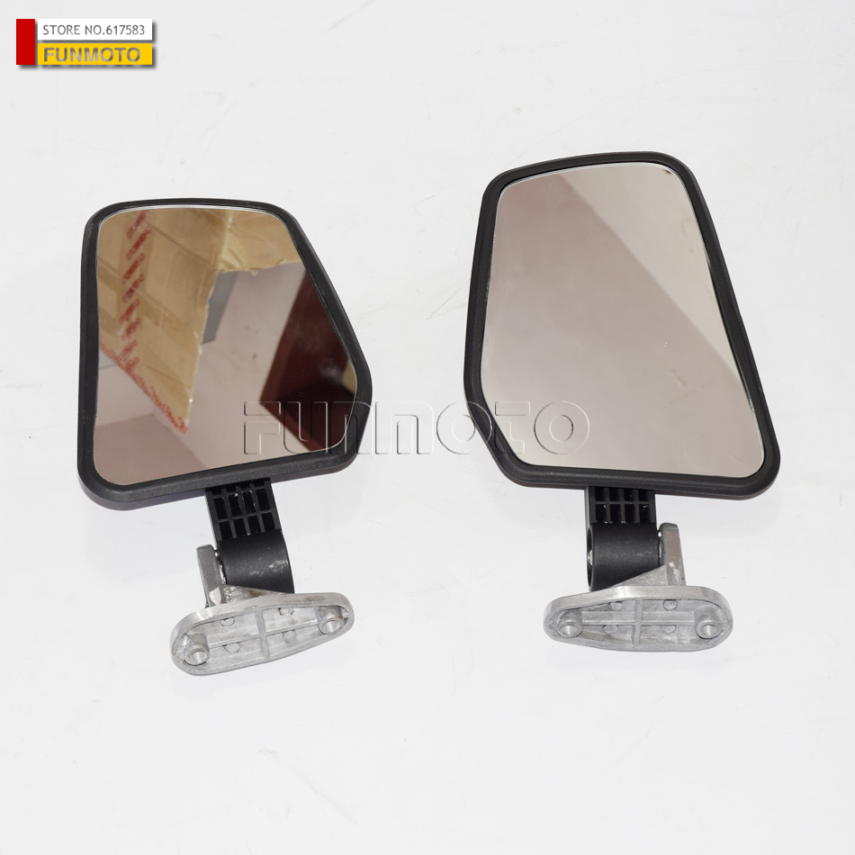 Left And Right  Rear Mirror  Suit For CFMOTO/CF650TR Parts Code Is 6NTG-200200/6NTG-200300