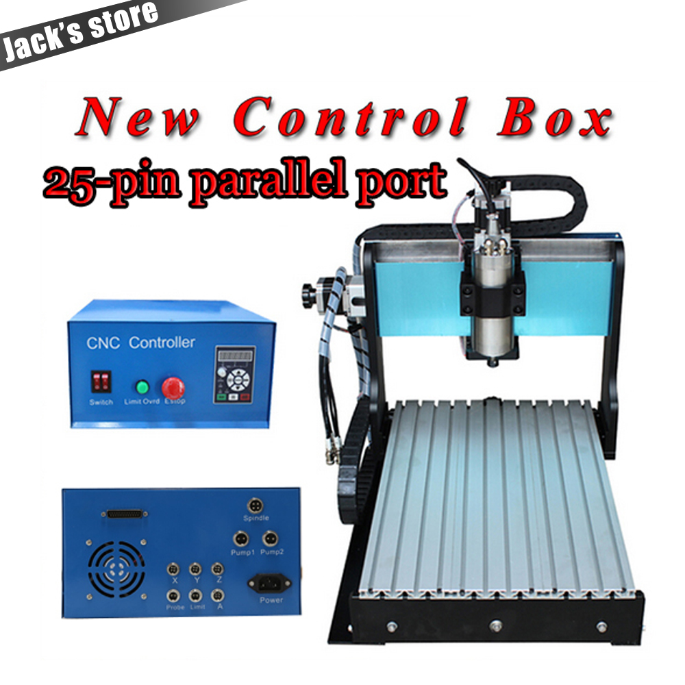 25-pin parallel port! 3040Z-SS++ , CNC3040 1500W Spindle + 2.2kw VFD CNC Router water-cooling ,Metal engraving machine