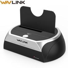 """Wavlink todo en 1 2,5/3,5 """"SATA HDD estación de acoplamiento USB 2,0 SATA disco duro externo carcasa para 2,5 3,5 pulgadas HDD/SSD SATA"""