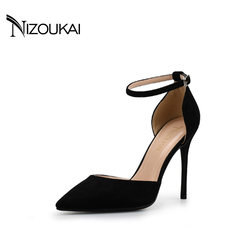Women High Heels Flock Shoes Summer Pumps Sandals Women Wedding Heels Sexy Party Shoes For Women Black Heel l2-r10 2017 free shipping siketu spring and autumn women shoes fashion high heels shoes wedding shoes pumps g174 summer sandals
