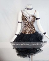 Latin dance dress,ballroom dress Rumba Jive Chacha Ballroom Latin Dance Dress