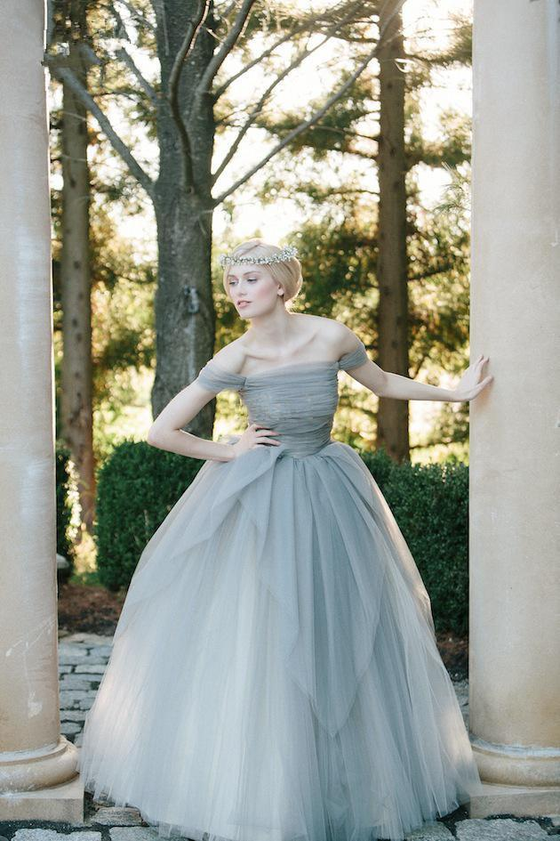 vintage blue wedding dress | Wedding Ideas