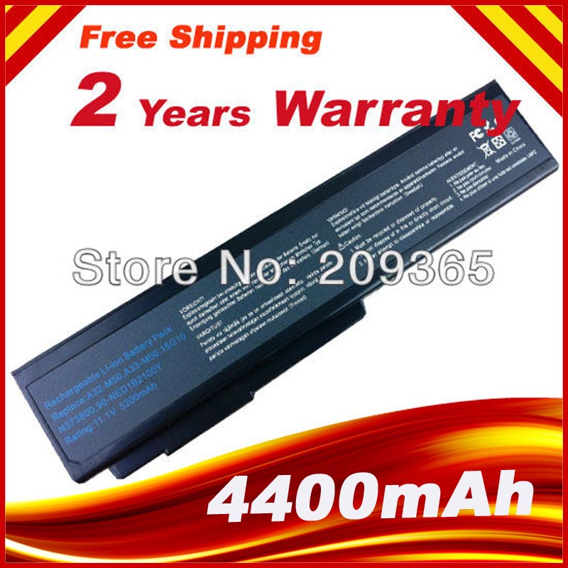 Laptop Battery for Asus N53S N53SV A32-M50 A32-N61 A32-X64 N53 A32 M50 M50s  A33-M50 N61 N61J N61D N61V N61VG N61JA N61JV beler 2x rear right left tail fog light lamp reflector 8352a005 8337a015 for mitsubishi outlander 2007 2008 2009 2010 2011 2012