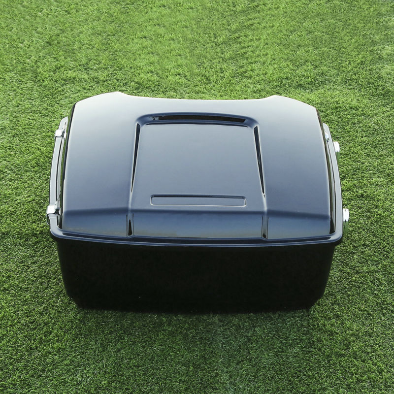 13.1 Tour Pak Pack Trunk W/ Latch For Harley Touring Road Electra Glide 1997-13  FLHT FLTR FLHX