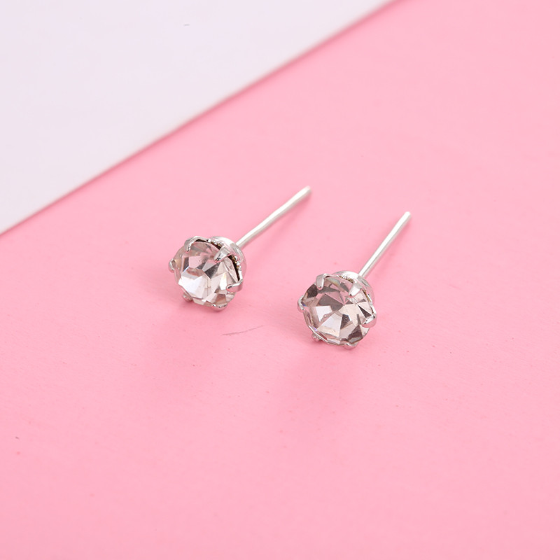 HTB1CdYlQNnaK1RjSZFBq6AW7VXav - 12 Pairs/set Crystal Stud Earrings for Women New Fashion Cute Earring 4mm Small Simple Crystal Earrings Jewelry Gifts