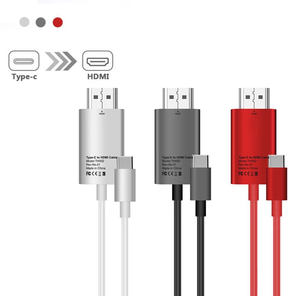 1 Stück USB Typ C zu HDMI TV Digital Kabel für Huawei Google Samusng ...