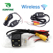 Wireless HD Car Rear View Camera For Volkswagen Tiguan 2012 Parking Assistance Camera Night Vision LED light Waterproof