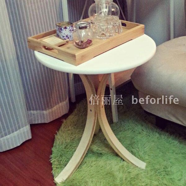 IKEA Shipping Small Coffee Table Round Wooden Table Telephone Table Side Table  Small Dining Table Round Table Simple And Stylish