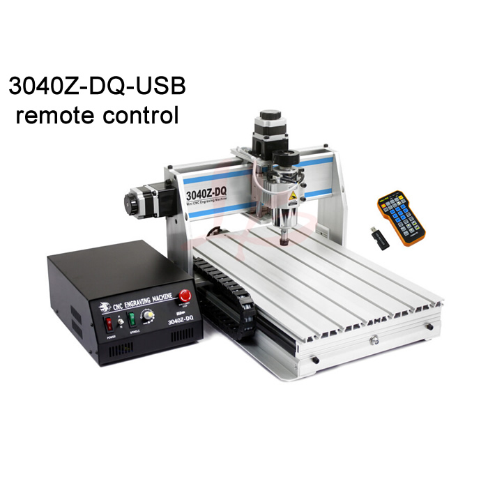 CNC engraving machine 3040Z-USB 3axis with mach3 remote control USB port ball screw Toggle clamp