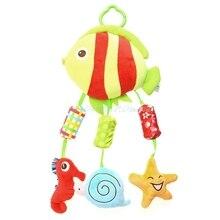 Прекрасные Детские плюшевые куклы висит колокола перезвон ветра погремушки, игрушки для малышей Развивающие # T026 #