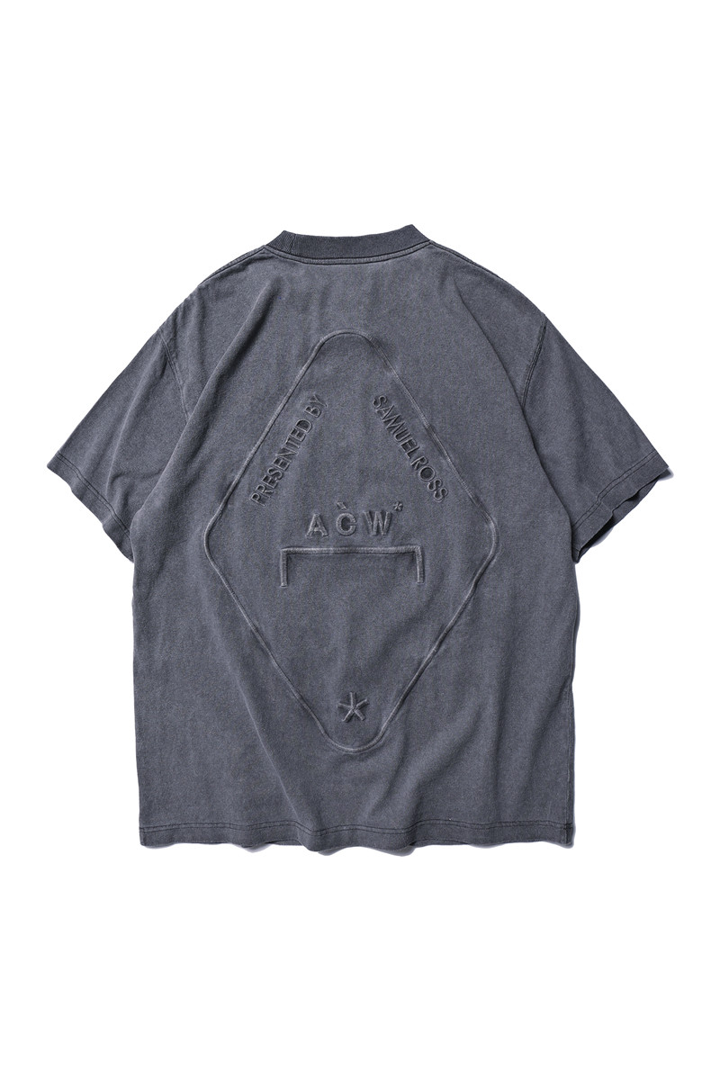 A-COLD-WALL ACW T-shirts Men Best Quality Embroidery Logo Casual T Shirt Top Tees A-COLD-WALL T-shirt