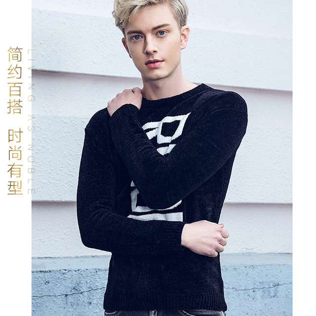 Designer Brand Clothing Hot 2018 Spring New MenS Sweater Men Pullover Fashion Letters Casual Long-Sleeved Sweater CD50