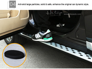 """Image 3 - Thicken running board side step bar for Mitsubishi Outlander 2016 2020,""""CXK"""" genuine,load 300kg,HITOP SUV experiences 7 years"""