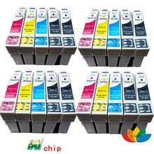 20x T0711 T0712 T0713 T0714 Compatible Ink cartridges for Epson stylus DX4050 DX4400 DX8400 DX8450 DX9400 DX9400F with chip