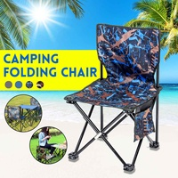 Portable Beach Chair Folding Outdoor Camping Chair Picnic BBQ Fishing Tools Hiking Seat 600D Oxford Colth Office Home Furniture