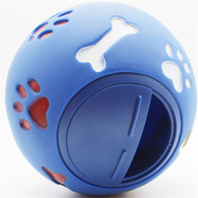 Pet Dog Toys Extra-tough Rubber Ball Toy Funny Interactive Elasticity Chew For Tooth Clean Of Food