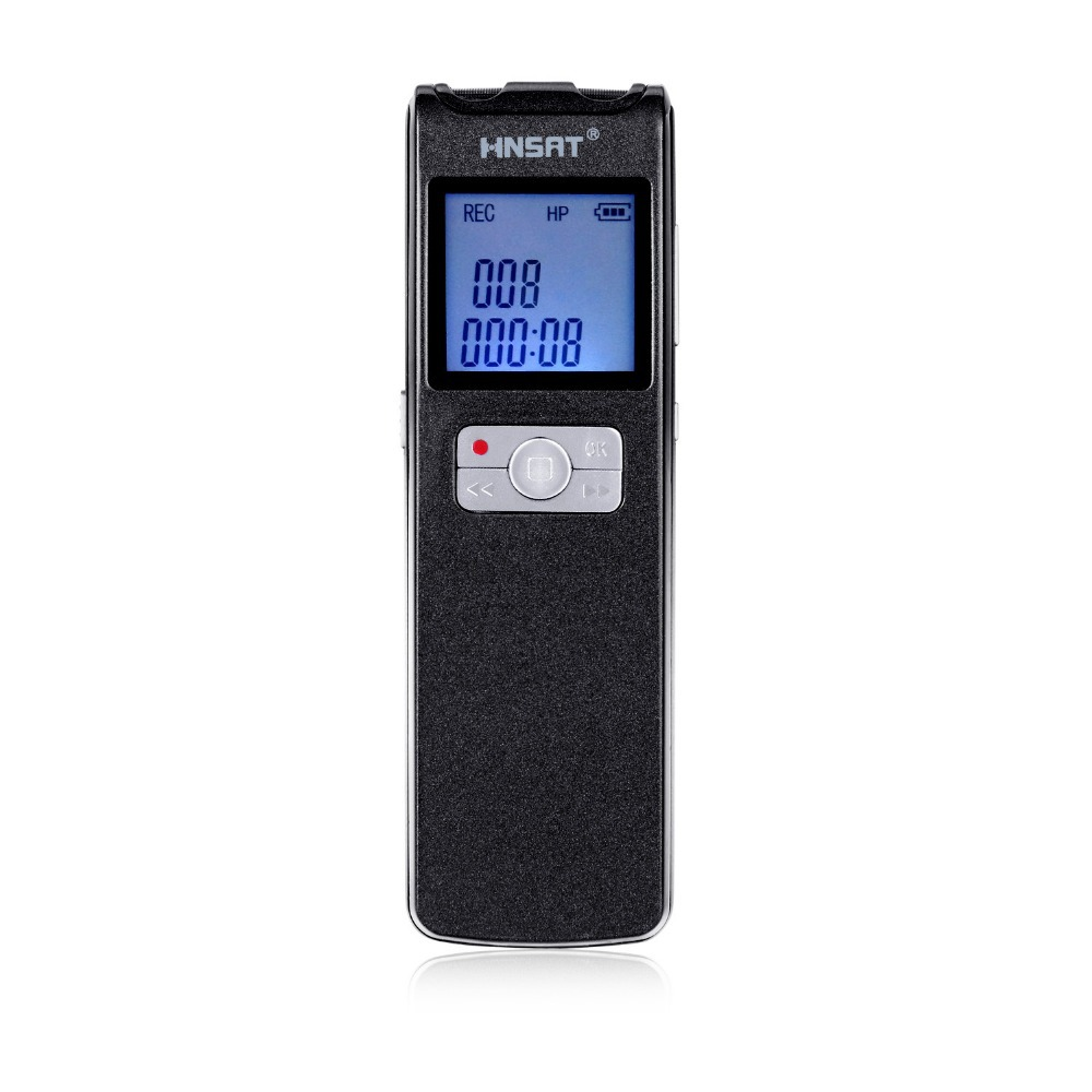Free Shipping Super Long Time 350 Hours Continuous Recording MiNi USB Pen 8GB FM MP3 Player