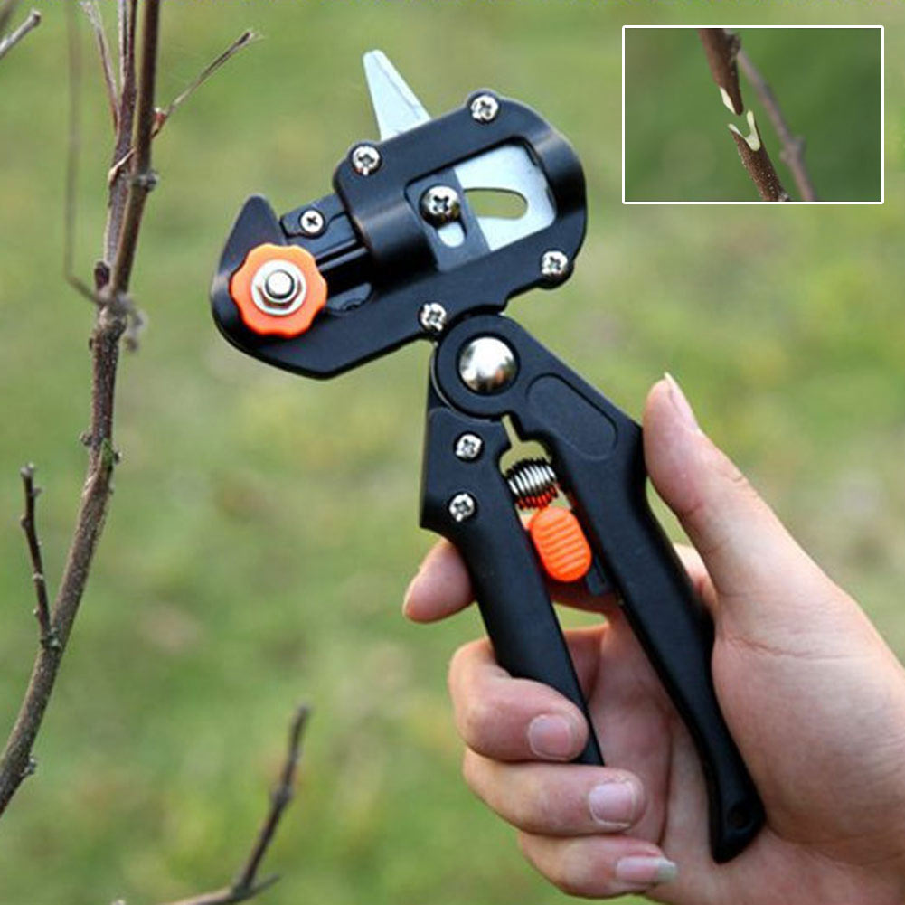 Hot Sale ABS Garden Fruit Tree Pruner Shear Snip Grafting Cutter Cutting Tool Set W/3Blade With Phillips Screwdriver