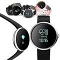 H09 bluetooth smart watch heart rate monitor de pressão arterial de fitness rastreador smartwatch passometer pulseira para ios android