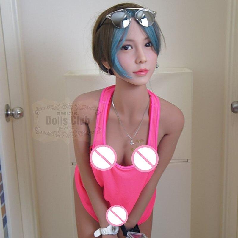 Muñeca sexual de silicona de cuerpo completo realista de 158 cm con esqueleto de Metal muñeca de amor Vagina realista Vagina culo juguetes sexuales para hombres