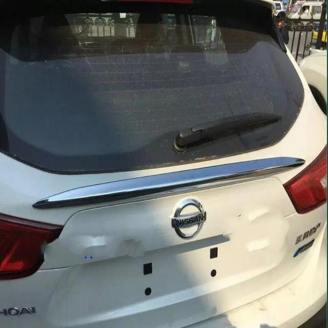 Аксессуары для Nissan Qashqai 2014 2015 2016 Отделка Багажника Задний Багажник Streamer abs Chrome Задняя Крышка Литье Стайлинга Автомобилей Стикер