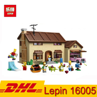 (In Stock) LEPIN 16005 2575Pcs the Simpsons House Model Building Blocks Bricks Kid Educational Toy Compatible LegoING 71006