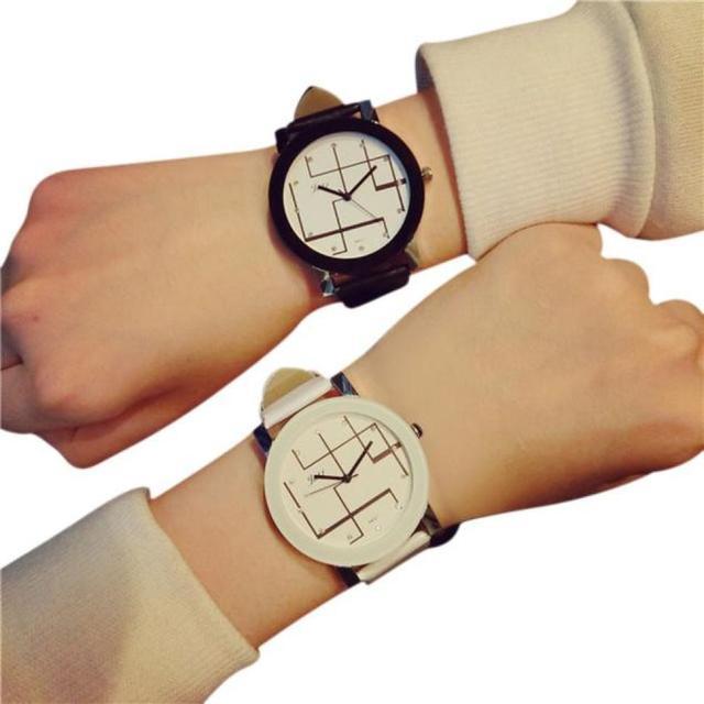 Couple watch Fashion Casual Brand Soft Silicone Strap Jelly Quartz Watch Wristwa
