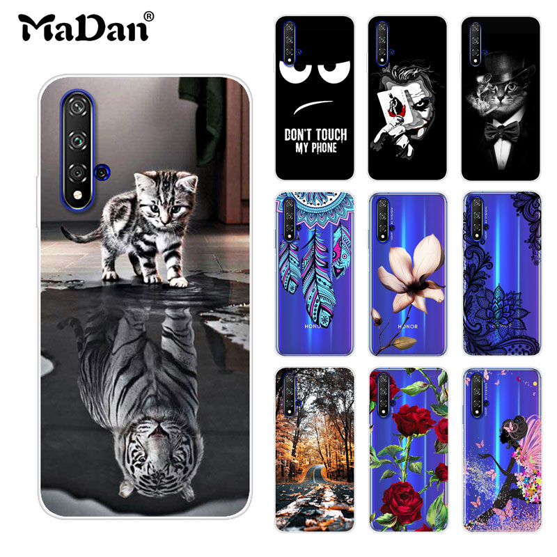 For Huawei Honor 20 Case Cover Honor 20 Case Phone Soft Silicone Coque Printing Back Protective Case For Huawei Honor 20 Funda