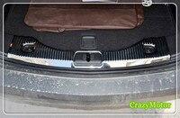 For Vauxhall Opel Mokka 2013 2014 2015 2016 2017 Rear Bumper Protector Sill Trunk Trim Accessories