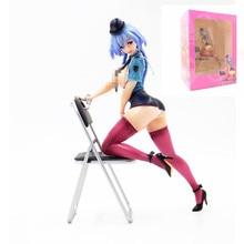 21 cm Alphamax Skytube MILE pierre Queed Ted police femme uniforme Sexy filles Anime PVC figurines jouets Figure jouets pour enfants garçon