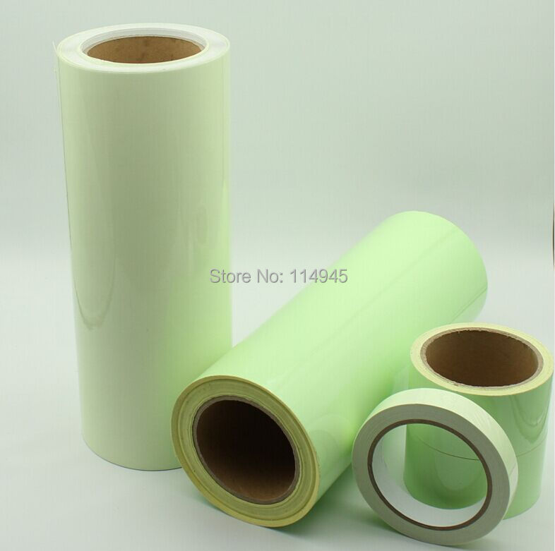 Premium brilho luminoso no escuro fita de vinil folha faixas refletoras  Shinning verde fita 50 mm (w)   10 m (l) frete grátis em Fita de  Melhoramento Da ... 3586fc0171e
