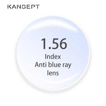 1.56 Index Anti-Blue Ray Prescription Lenses Aspherical Computer Professional Lenses Anti-Radiation Optical Myopia Hyperopia Len