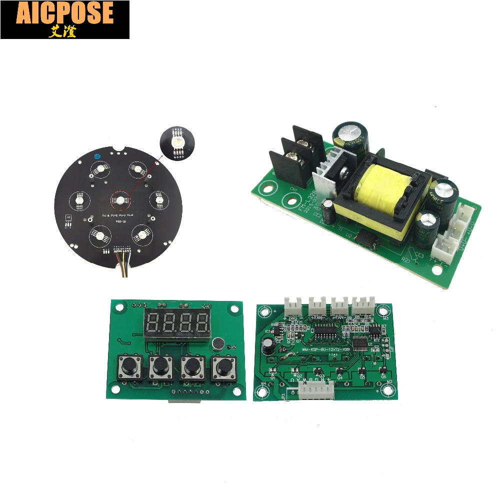 7x12w Led Board Mother Board And Power