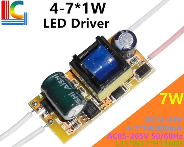 BP3135 4W 5W 6W 7W LED Driver Adapter AC to DC 12V to 24V 300mA Power Supply 110V 220V Lighting Transformer for LED Bulb Lamp CE