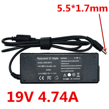 цены на Laptop Ac Adapter Power Supply Cord For Acer Aspire 5750 5750G 5755 5755G 6920 6920G 6930G Notebook Battery Charger 19V 4.74A  в интернет-магазинах