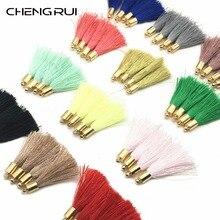 CHENGRUI L32, 4 см, с кисточками, шелковые кисточки, бахрома, шторы кисти для штор, щетка для штор, ремесло, ткань с бахромой, с бахромой для шитья, 10 шт./пакет